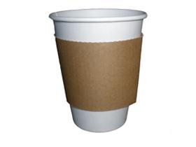 Manschette aus Karton zu Kaffeebecher