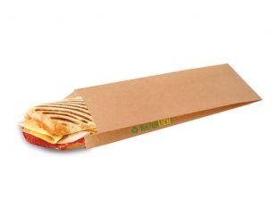 Paninibeutel aus Papier braun