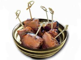 Fingerfoodspiesse LOOP aus Bambus