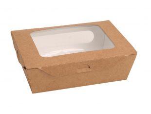 Salatbox aus Karton