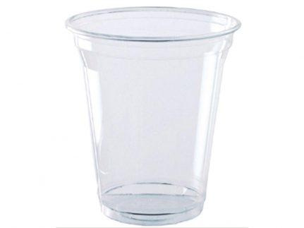 Trinkbecher aus PLA transparent