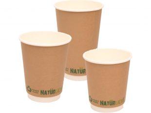 Kaffeebecher aus Pappe doppelwandig