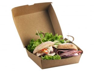 Hamburgerbox aus Karton
